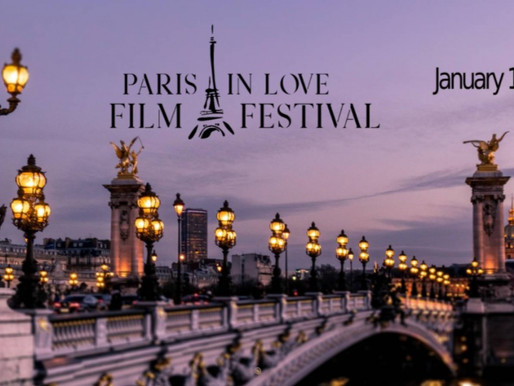 JANUARY 14TH to Screen in France at the Paris in Love Film Festival on January 16-21