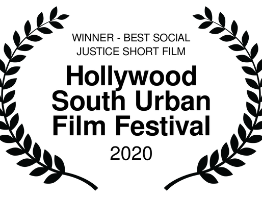 JANUARY 14th Wins Best Social Justice Film at Hollywood South Urban Film Festival