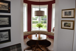 Our turret seating area