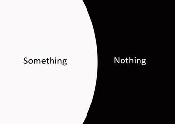 Nothing - Something