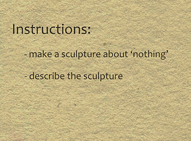 Sculpture About Nothing