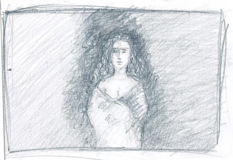 a scene inspired by  the novel Pedro Paramo by Juan Rulfo