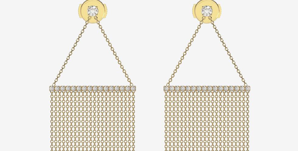 La Favorita Yellow Gold Earrings