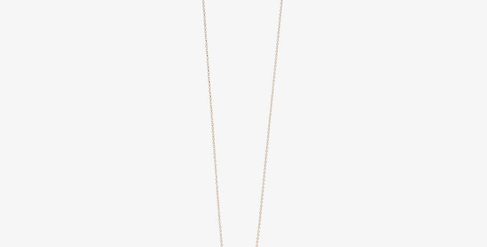 Queen B Necklace Rose Gold & Diamonds