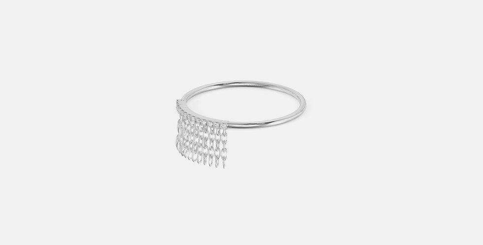 La Favorita White Gold ring