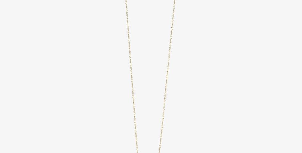 Queen B Necklace Gold & Diamonds