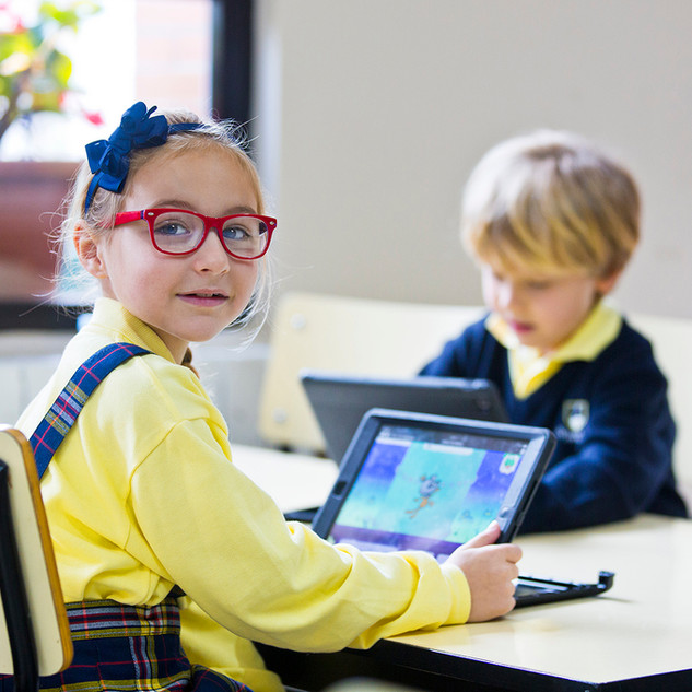 Swans Primary School. iPad support.