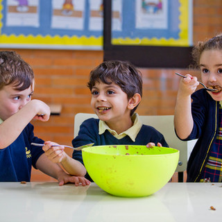 Swans Primary School. Cookery lessons and fun.