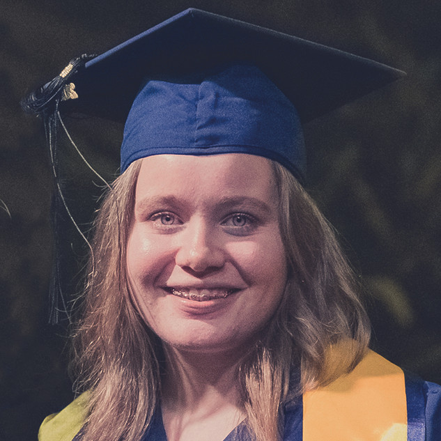 Esmee White, IB Student 41 points