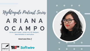 An interview with a UX designer at Softwire- Ariana Ocampo
