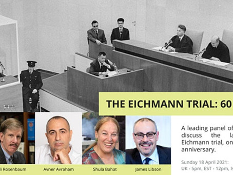 The Eichmann Trial: 60 years on