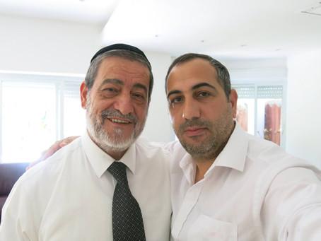 """לזכרו של הרב אברהם חמרה ז""""ל, רבם של יהודי סוריה"""