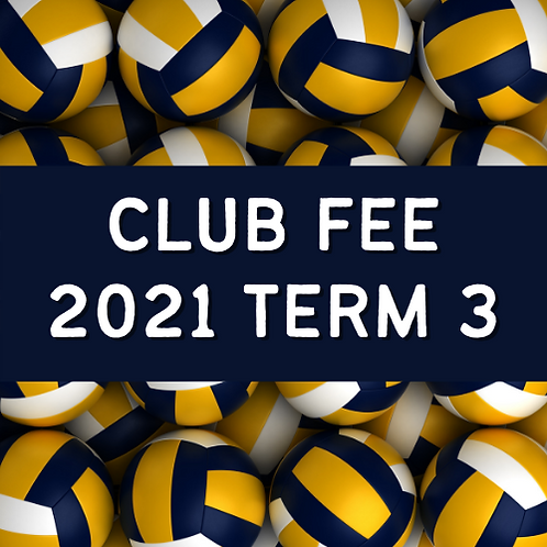 SCVA 2021Term 3 Club Fee