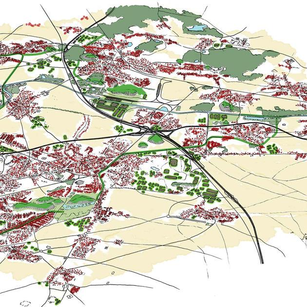 Étude territoriale participative - Les paysages de la mondialisation