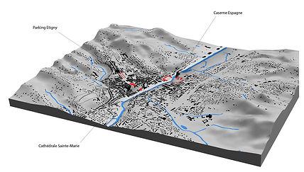 Le Gers et sa vallée dissymétrique