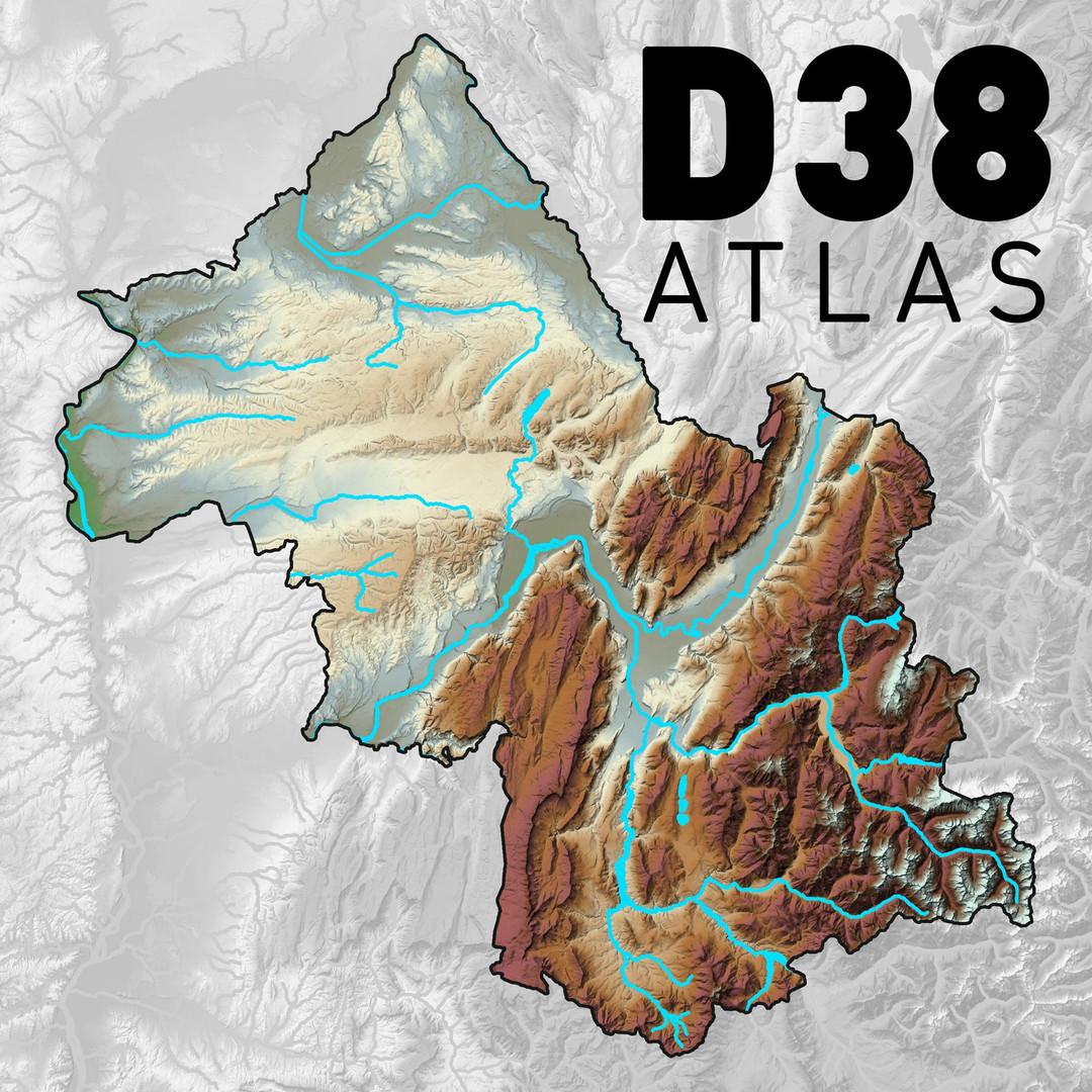 Atlas des paysages D38