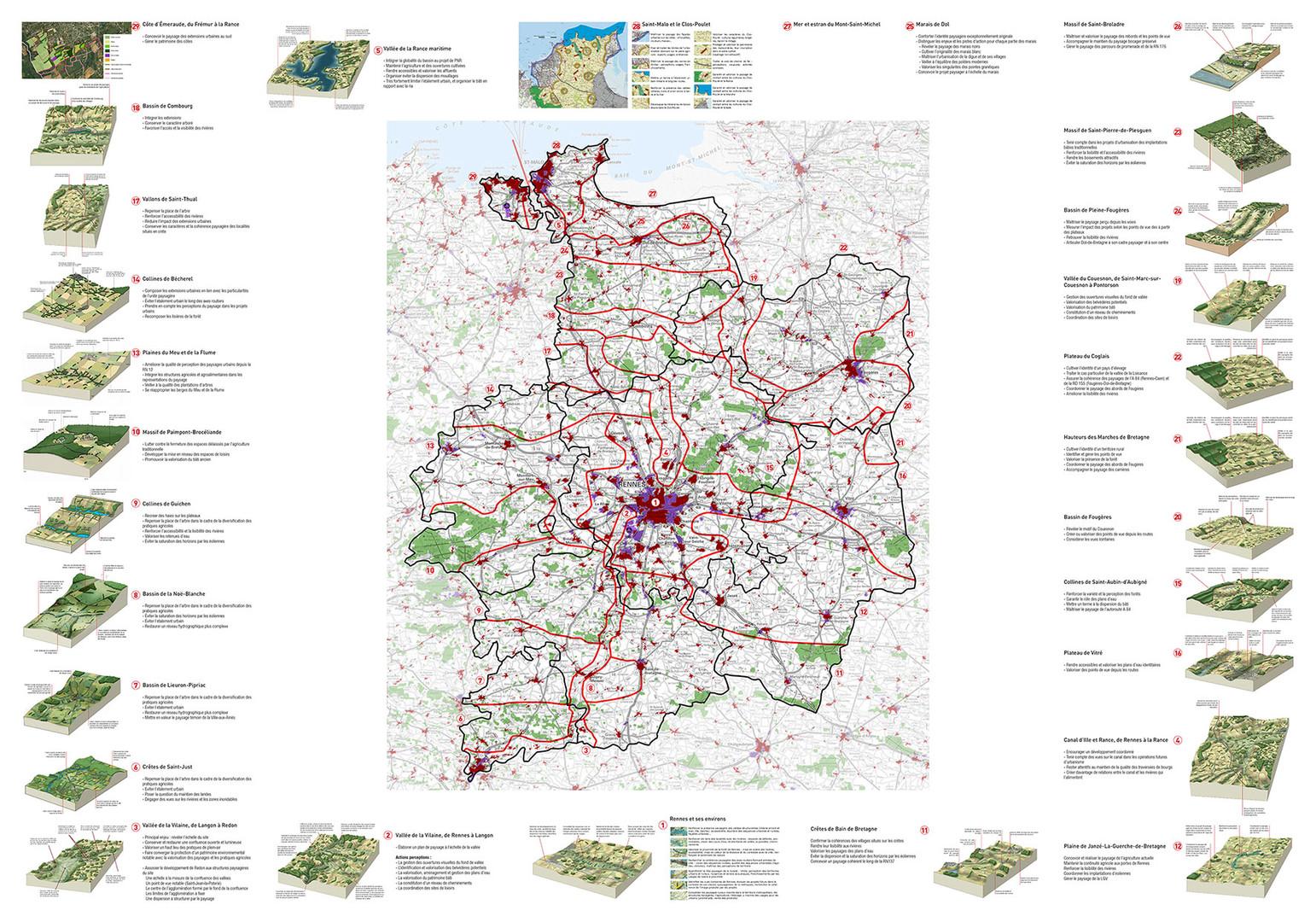 Les ateliers du paysage - Département Ille et Vilaine (35)