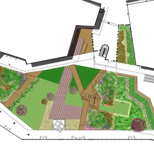 Jardins privés entreprises