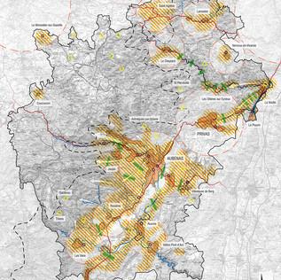Plan de paysage Ardèche