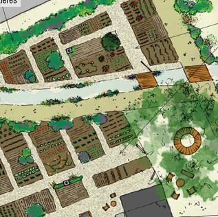 Élaboration participative d'un jardin partagé