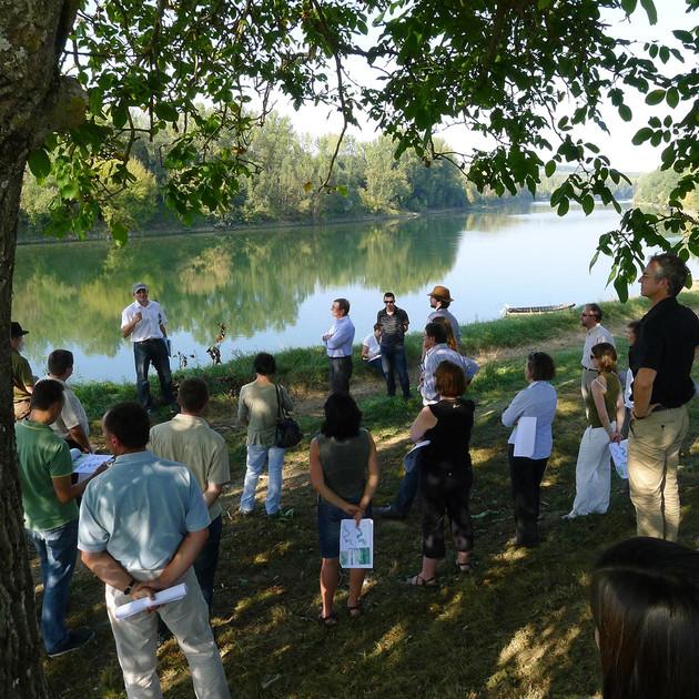 Représentations paysagères en vallée de Garonne