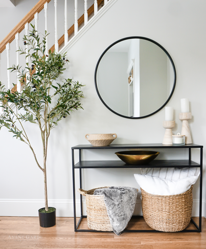 Transitional Entryway