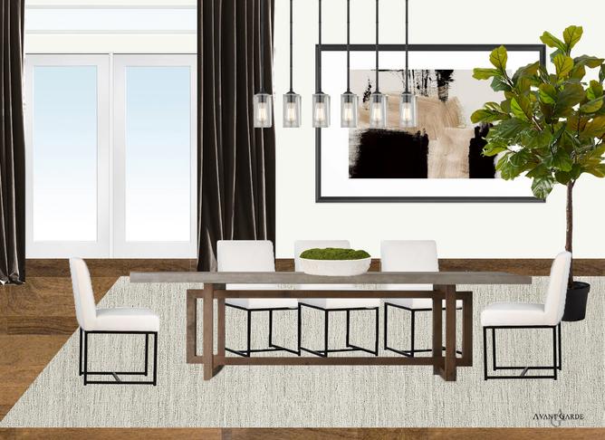 Vegas Dining Room Concept