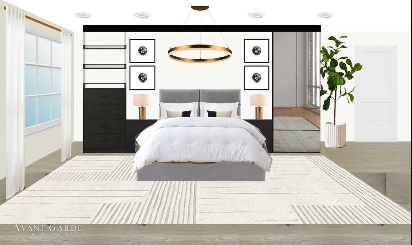 Custom Master Bedroom Concept
