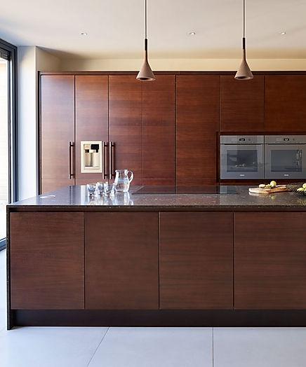Bespoke all-walnut kitchen design by Charles Yorke, charlesyorke.com, from £25,000.