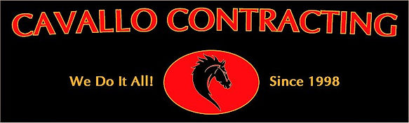 Cavallo Contracting - Logo with backgrou