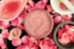 poudre cosmétique naturelle