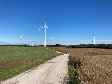 Baubeginn Windpark Kettlasbrunn II