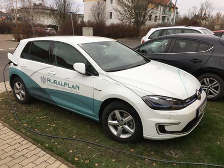 VW e-Golf eingetroffen