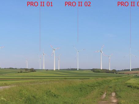 Windpark Prottes II - UVP-Genehmigung
