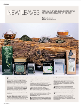Sublime magazine: New Leaves