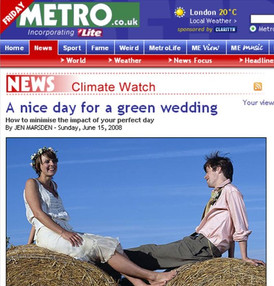 A Nice Day for a Green Wedding