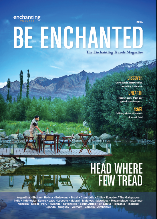 Be Enchanted Magazine: Head Where Few Tread 2017 edition
