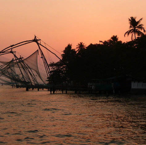 Nets at Sunset