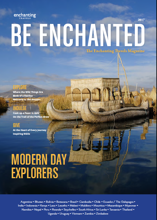 Be Enchanted Magazine: Modern Day Explorers 2017 edition