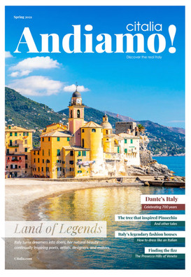 Andiamo! Spring 2021 issue: Land of Legends