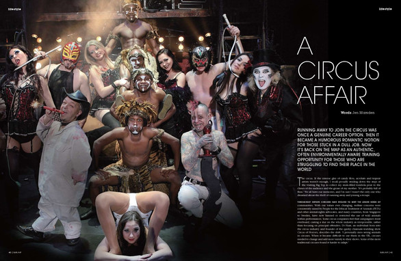 Sublime magazine: A Circus Affair