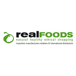 Real Foods logo client