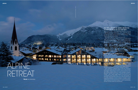Sublime magazine: Alpine Retreat