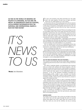 Sublime magazine: It's News to Us