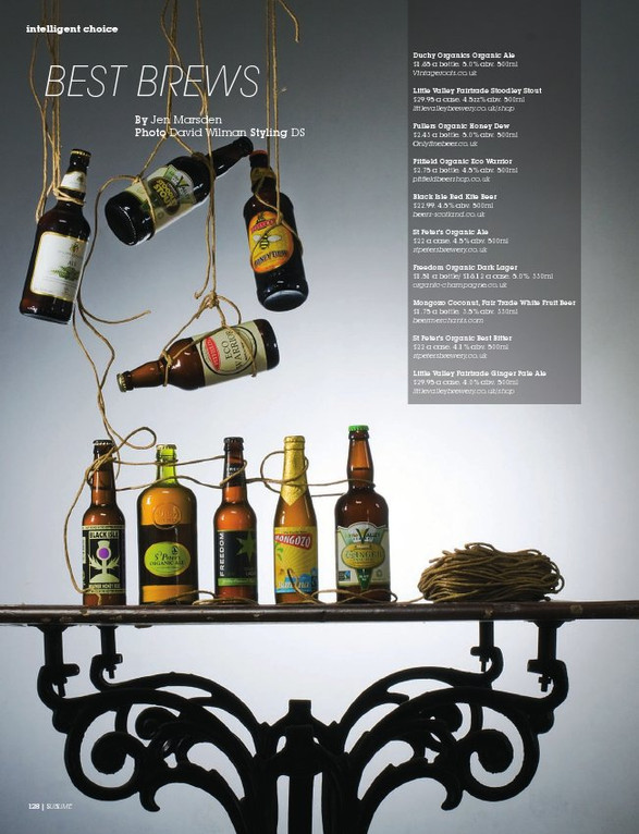 Sublime magazine: Best Brews
