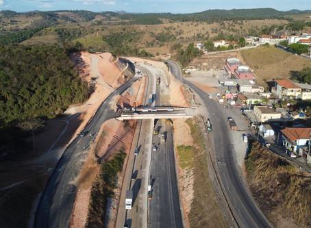 DNIT libera tráfego de veículos em Roças Novas e Itabira, na BR-381/MG