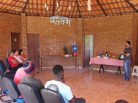 Moradores participam de treinamento de formação de Brigada de Incêndio comunitária