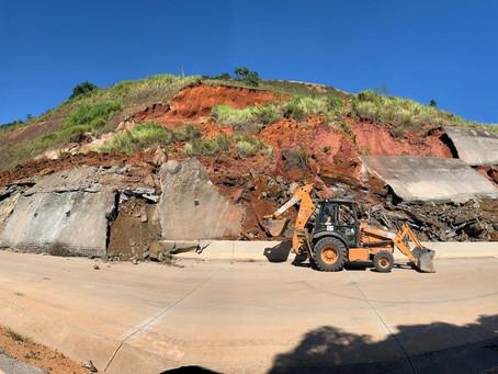 Atenção motoristas: DNIT faz retirada de deslizamento na BR-381/MG