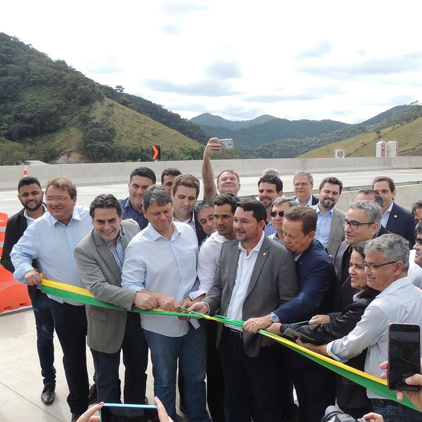Visita do Ministro Tarcísio Freitas ao Lote 3.1