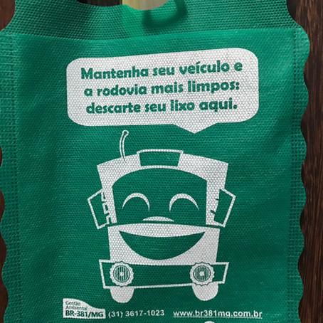 Mantenha seu veículo e a rodovia mais limpos